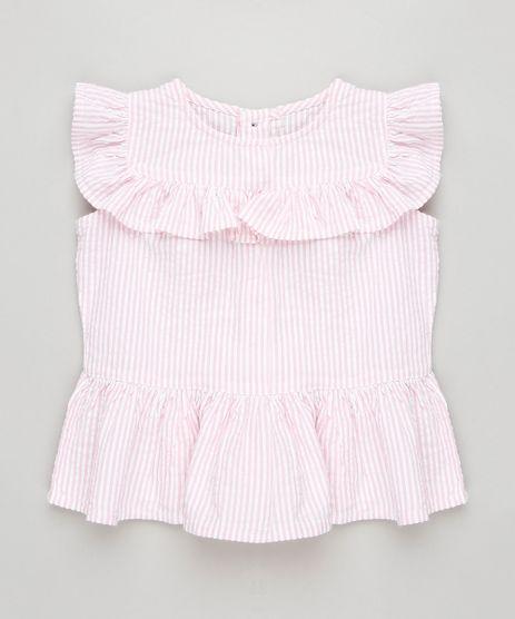 Regata-Infantil-Listrada-com-Babado-Decote-Redondo-Rosa-Claro-9174599-Rosa_Claro_1