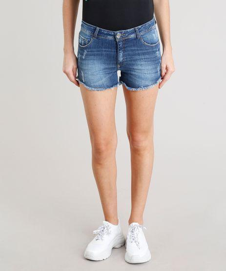 Short-Jeans-Feminino-Reto-Barra-Desfiada-Azul-Escuro-9370010-Azul_Escuro_1