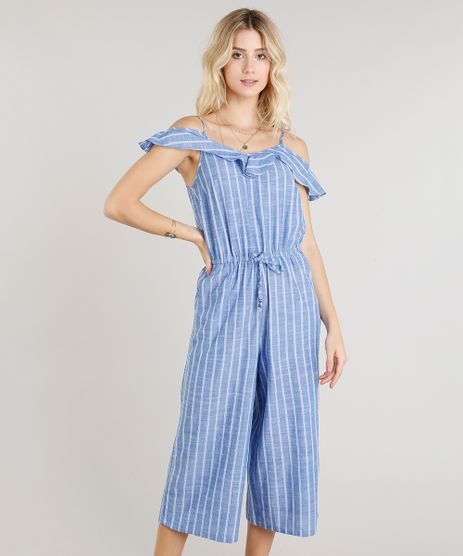 Macacao-Feminino-Pantacourt-Open-Shoulder-Listrado-Azul-9251884-Azul_1