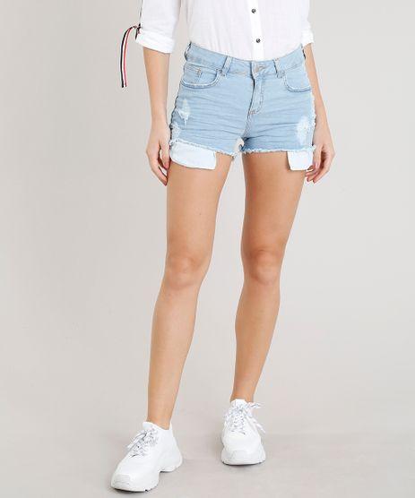 Short-Jeans-Feminino-Reto-com-Rasgos-Azul-Claro-9300007-Azul_Claro_1