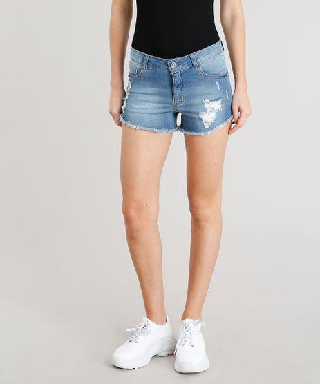 Short-Jeans-Feminino-Reto-Destroyed-Barra-Desfiada-Azul-Claro-9370011-Azul_Claro_1
