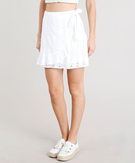 Saia-Feminina-com-Transpasse-em-Laise-com-Babado-Curta-Off-White-9259632-Off_White_1
