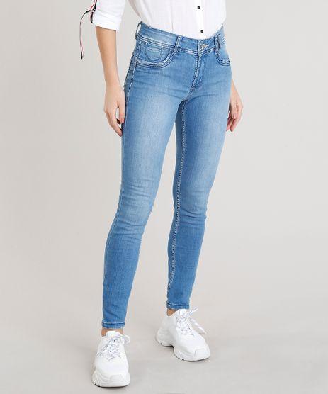 Calca-Jeans-Feminina-Sawary-Skinny-Azul-Claro-9368336- 7120a07cded
