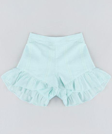 Short-Infantil-Bordado-com-Babados-Verde-Claro-9182787-Verde_Claro_1