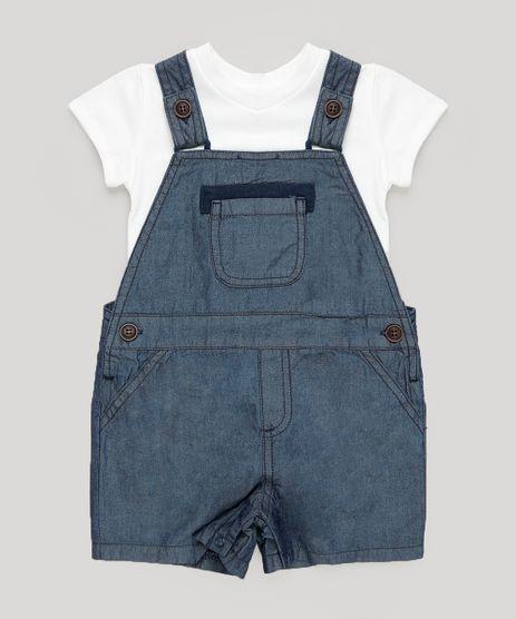 Conjunto-de-Body-Manga-Curta-Off-White---Jardineira-Jeans-Azul-Escuro-9201531-Azul_Escuro_1