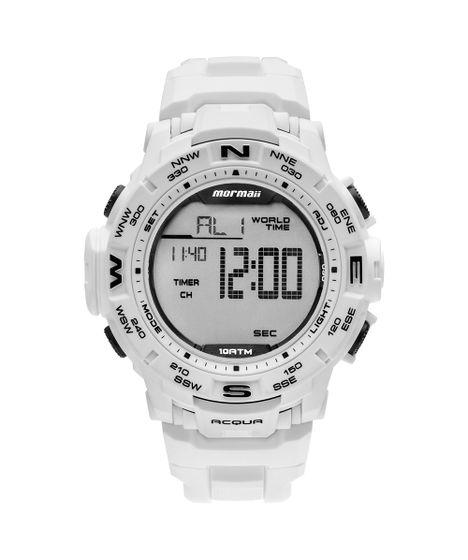 Relógio Mormaii Masculino Interestelar Branco MO1173E 8B - cea d57bbd154b