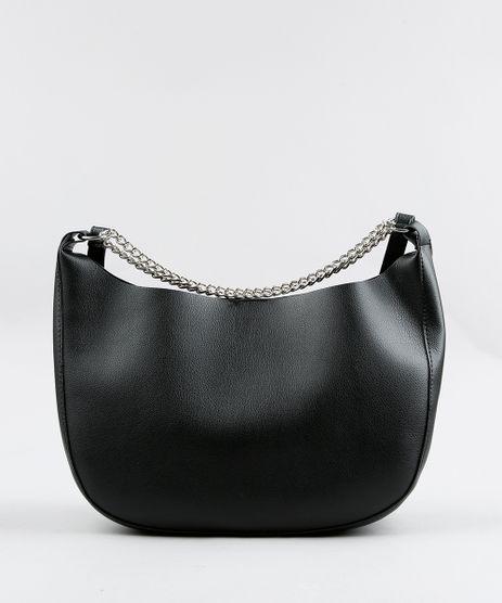 Bolsa-Hobo-Feminina-com-Correntes-Preta-9250671-Preto_1