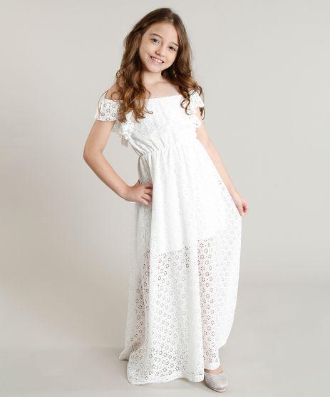 Vestido-Infantil-Longo-em-Renda-com-Babado-Off-White-9304647-Off_White_1