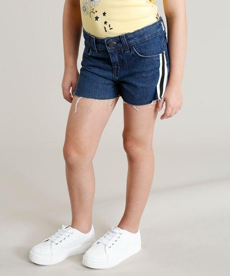 Short-Jeans-Infantil-com-Faixa-Lateral-Azul-Escuro-9228913-Azul_Escuro_1