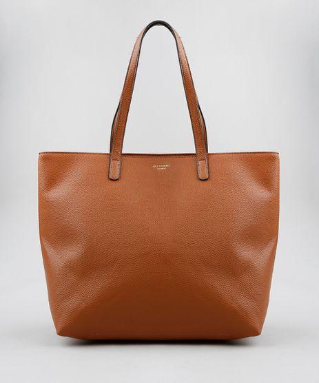 Bolsa-Shopper-Feminina-com-Alca-Fixa-Caramelo-9250984-Caramelo_1