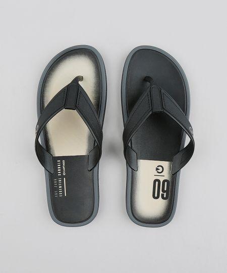 8dc8f3d49 Chinelo Masculino Cartago Preto | Menor preço com cupom
