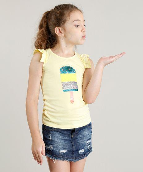 Regata-Infantil-Picole-com-Paete-Dupla-Face-e-Babado-Decote-Redondo-Amarela-9254087-Amarelo_1