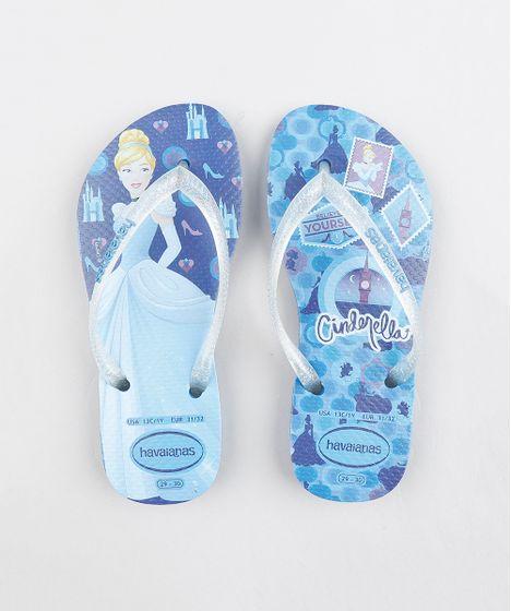e8a006683c Chinelo-Infantil-Havaianas-Princesas-Cinderella-Azul-9324019-Azul 1 ...
