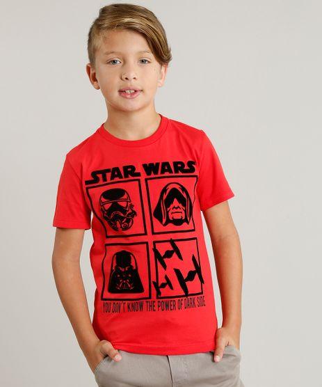 Camiseta-Infantil-Star-Wars-Manga-Curta-Gola-Careca-Vermelha-9332648-Vermelho_1