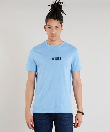 Camiseta-Masculina-C2C--Future--Manga-Curta-Gola-Careca-Azul-Claro-9267333-Azul_Claro_1
