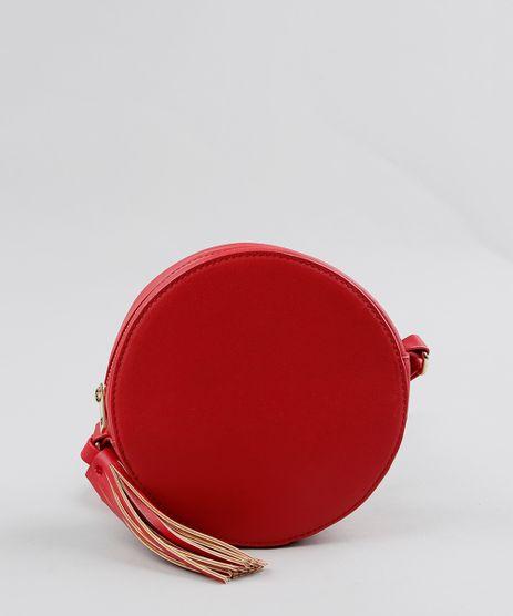 Bolsa-Feminina-Redonda-Transversal-com-Tassel-Vermelha-9200576-Vermelho_1
