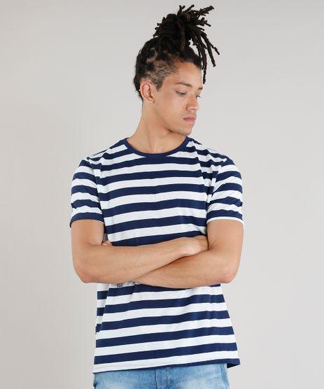 Camiseta-Masculina-Basica-Listrada-Manga-Curta-Gola-Careca-Azul-Marinho-9286441-Azul_Marinho_1