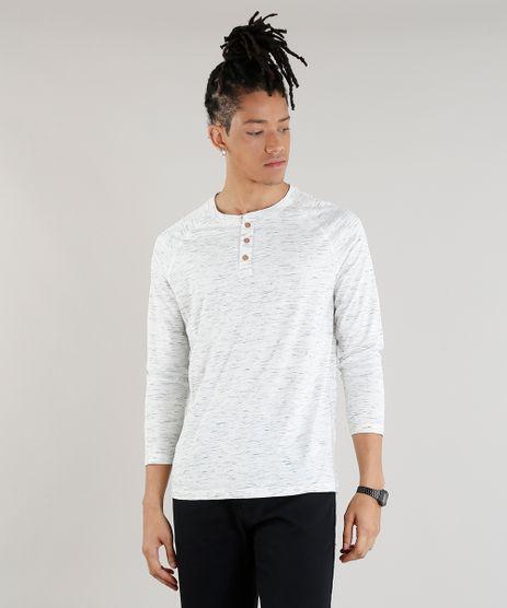 Camiseta-Masculina-Mescla-com-Botoes-Manga-Longa-Gola-Careca-Off-White-9248985-Off_White_1