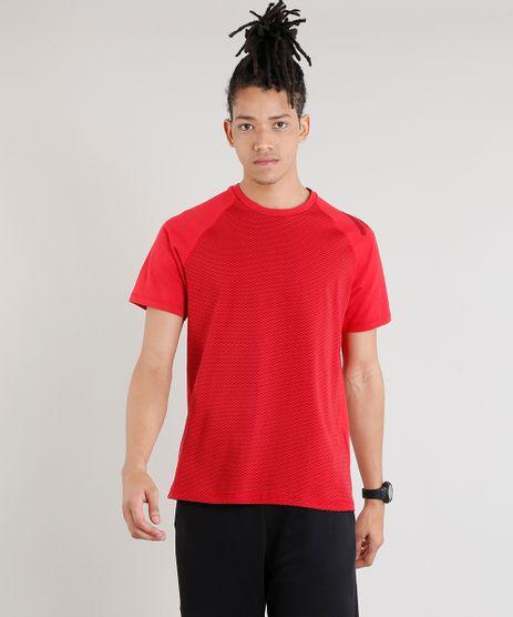 Camiseta-Masculina-Esportiva-Ace-com-Estampa-Geometrica-Manga-Curta-Gola-Careca-Vermelha-9320261-Vermelho_1