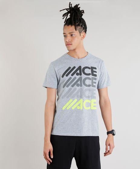 Camiseta-Masculina-Esportiva-Ace-Manga-Curta-Gola-Careca-Cinza-Mescla-9275081-Cinza_Mescla_1
