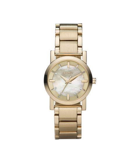 f37300cd324 Relógio DKNY Feminino Dourado - GNY4520 Z - cea