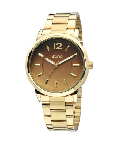 3fb7f279afe Relógio Euro Feminino Maribor EU2035LQW 4C - Dourado - cea