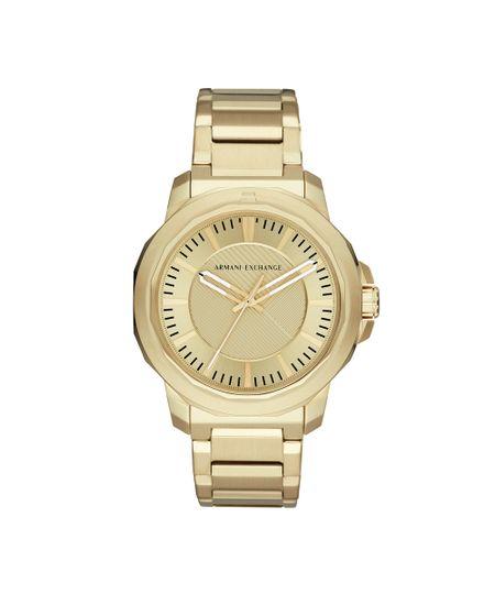 Relógio Armani Exchange Masculino Classic Ryder Dourado - AX1901 1DN - cea 17c30eae47