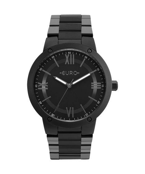 b8e4517f639 Relógio Euro Feminino Ouse Ser Você Mesma Preto - EU2035YMV 4P - cea