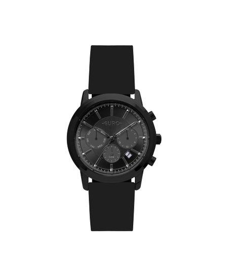 6b54b4753d Relógio Euro Feminino Multi Basics Pushers Preto EUJP25AC 8P - cea