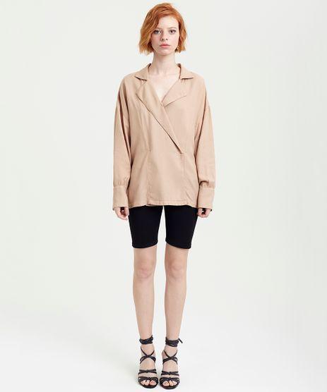 Camisa-Feminina-Transpassado-Manga-Longa--Kaki-9374624-Kaki_2