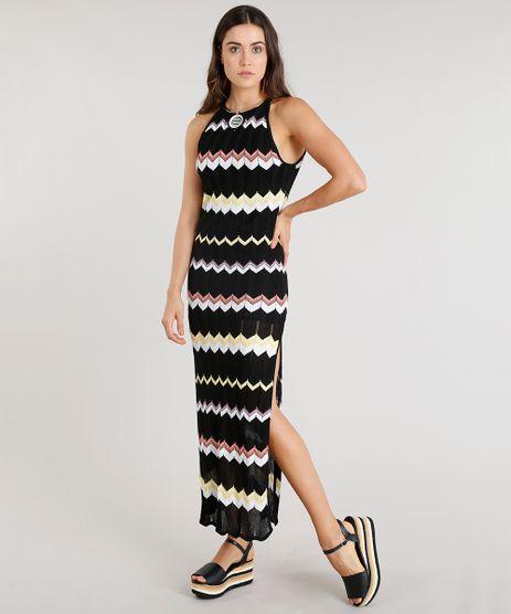 Vestido-Feminino-Longo-Missoni-Halter-Neck-em-Trico-Estampado-Preto-9042925-Preto_1