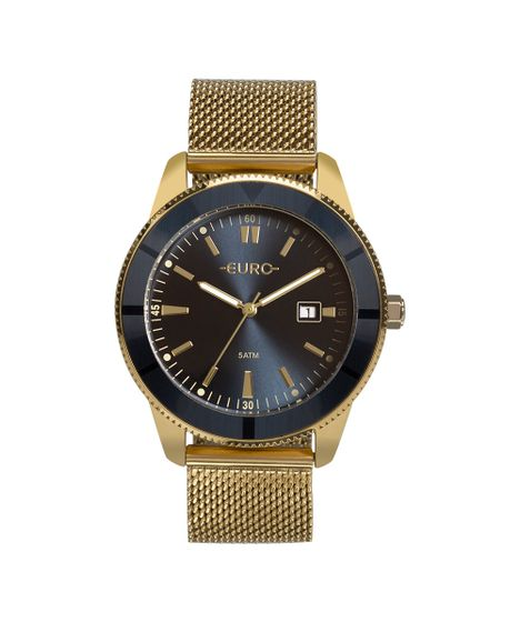 3a8c1cec50e Relógio Euro Feminino Metal Trendy Dourado EU2115AL 4A - cea