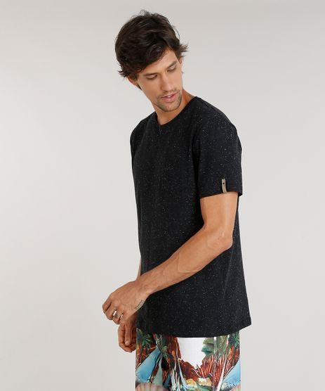 Camiseta-Masculina-Agua-de-Coco-Botone-com-Bolso-Manga-Curta-Gola-Careca-Preta-9344823-Preto_1