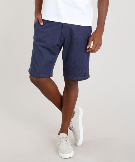 Bermuda-Jeans-Masculina-Blueman-em-Moletom-Azul-Escuro-9323971-Azul_Escuro_1