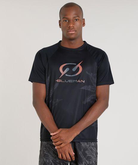 Camiseta-Masculina-Blueman-Esportiva-com-Estampa-de-Folhagens-Manga-Curta-Gola-Careca-Preta-9308253-Preto_1
