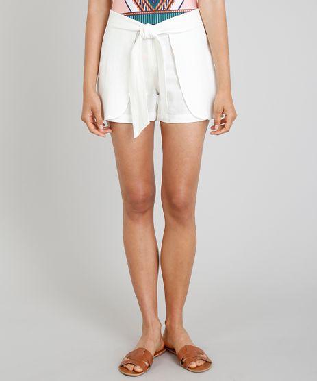 Short-Feminino-Cia--Maritima-com-Amarracao-em-Linho-Off-White-9253086-Off_White_1