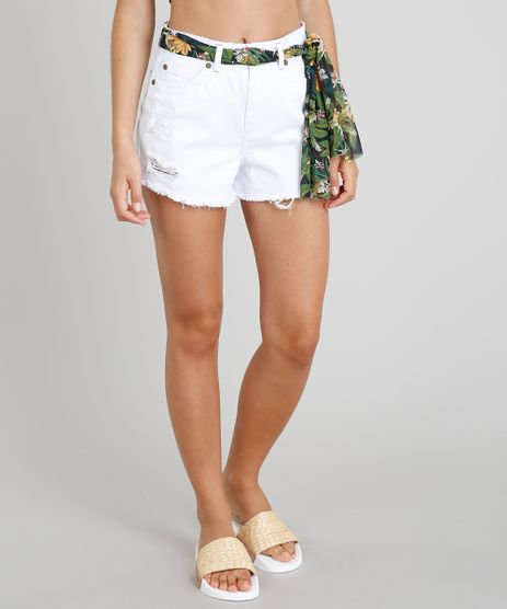 Short-Vintage-Feminino-Blueman-Destroyed-com-Lenco-Estampado-Araras-Branco-9369536-Branco_1