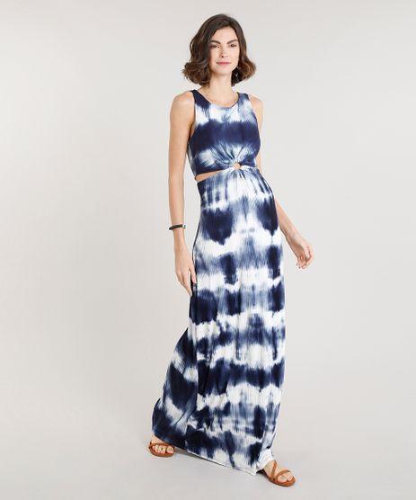 Vestido-Feminino-Longo-Canelado-Estampado-Tie-Dye-com-Argola-e-Vazado-Azul-Marinho-9305487-Azul_Marinho_1