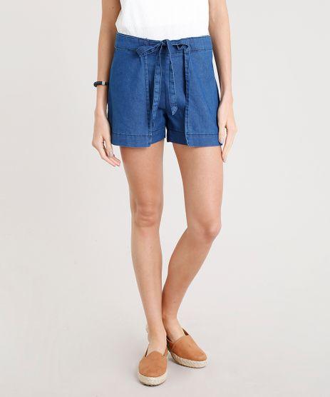 Short-Jeans-Feminino-Envelope-com-Sobreposicao-Azul-Escuro-9372343-Azul_Escuro_1