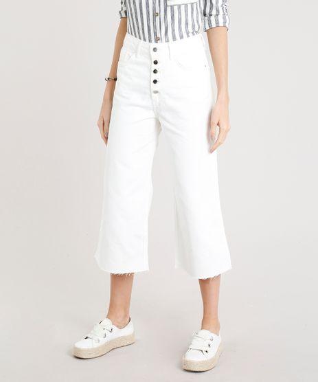 Calca-de-Sarja-Pantacourt-Feminina-com-Botoes-Off-White-9269738-Off_White_1