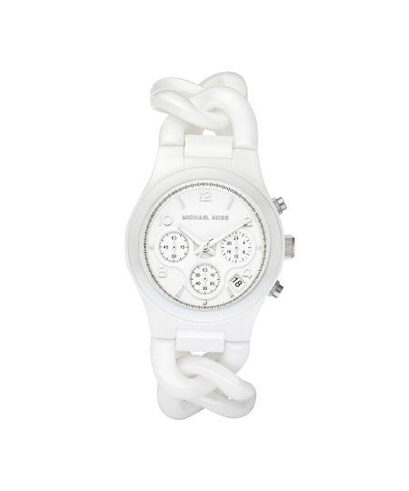 8799527a6d3 Relógio Michael Kors Feminino Branco - OMK5387 Z - cea
