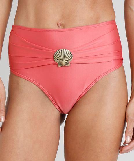 Biquini-Calcinha-Hot-Pant-Agua-de-Coco-com-Concha-Protecao-UV50--Coral-9281497-Coral_1