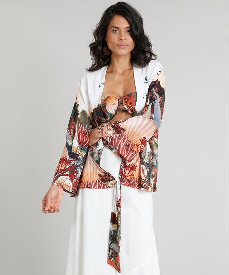 Kimono-Feminino-Agua-de-Coco-Estampado-Corais-Manga- 5296406a23148