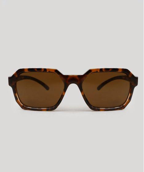 dcfff1f90 Óculos de Sol Água de Coco Quadrado Feminino Tartaruga - cea