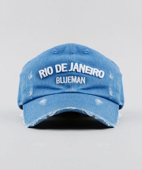 Bone-Feminino-Blueman-Rio-de-Janeiro-em-Jeans-Azul-Medio-9377277-Azul_Medio_1