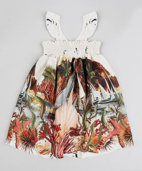 Vestido-Infantil-Agua-de-Coco-Estampado-Corais-Off-White-9334411-Off_White_1