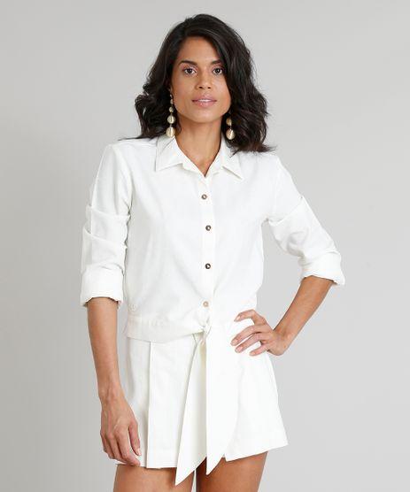 Camisa-Feminina-Agua-de-Coco-Cropped-em-Linho-Bordada-de-Coqueiros-Manga-Longa-Off-White-9254744-Off_White_1