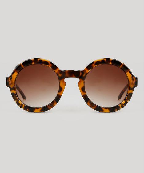 4dc7953c6 Oculos-de-Sol-Blueman-Redondo-Feminino-Tartaruga-9343644- ...