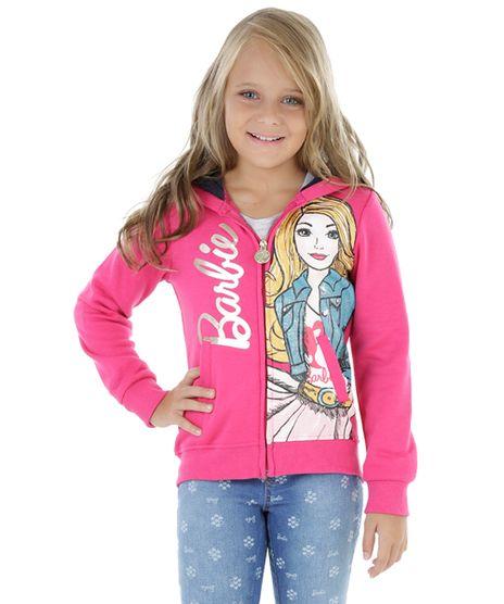 Blusao-em-Moletom-com-Capuz-Barbie-Pink-8198328-Pink_1