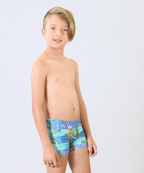 Sunga-Infantil-Boxer-Blueman-Estampada-Stripes-com-Protecao-UV50--Azul-9285571-Azul_1